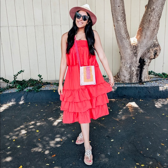 Dresses & Skirts - Two piece ruffle top and skirt